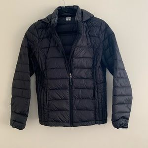 32 Degrees Packable Hooded Down Puffer Coat Sz S